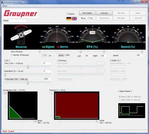 GraupnerServoSoftware